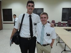 Elder Cadogan. I think he looks like Jason Gassaway.