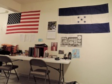 We decorated the apt. a bit. Represent.